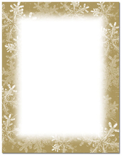 Product Image For Frosted Holiday Wishes Letterhead